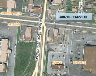 retail site for lease at corner of sr 72 and leffel ln
