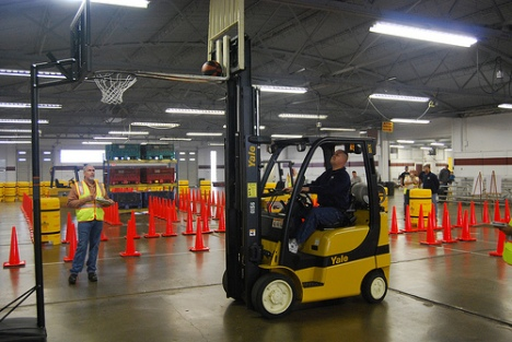 2009 US Open Forklift Rodeo