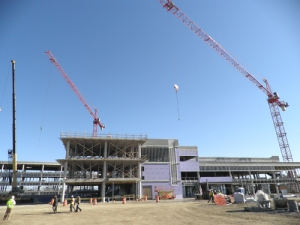 new Springfield Regional Medical Center (from west)